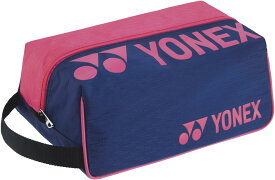 YONEX(ヨネックス) テニス バック・ケース シューズケース 【ネイビー/ピンク】 BAG2133 675 メンズ・レディース 男性用・女性用 紺 21 {SK}