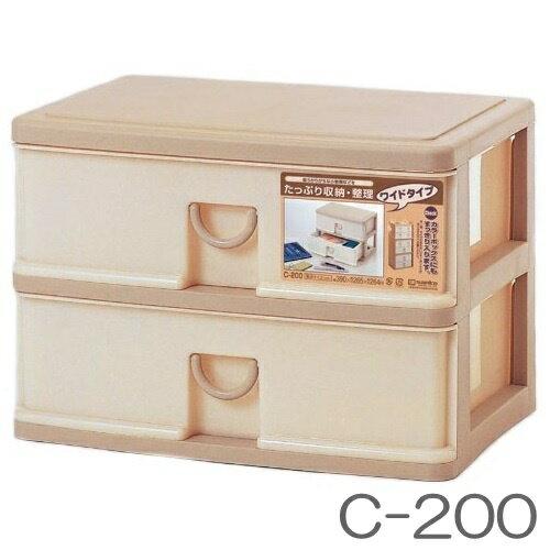 【新生活応援!お買い得!】エルピス C-200 収納ケース サンコープラスチック【RCP】※
