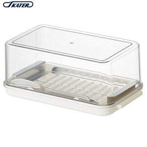 定番 業務用バターサイズ ステンレスバターカッター式 バターケース バターナイフ付 SKATER(スケーター) BTG2DXN