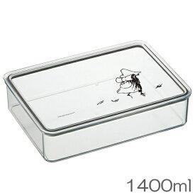 ムーミン コレクション Snufkin(スナフキン) システムフードケース 1400ml 食洗機対応 新柄 SKATER(スケーター) PCS5T ※