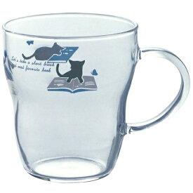 わたしとねこ 耐熱マグカップ ねこ×本 東洋佐々木ガラス TH401-J386 #