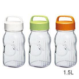 果実酒ポット 1.5L 果実酒瓶 フルーツシロップびん 漬け上手® 東洋佐々木ガラス #