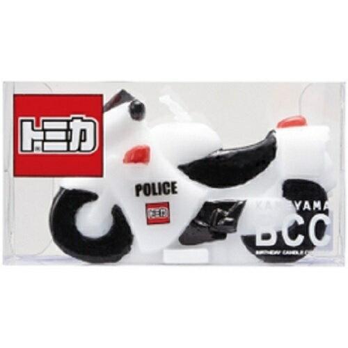 KAMEYAMA BCC トミカキャンドル 10 白バイ カメヤマ B5606-00-10【RCP】#