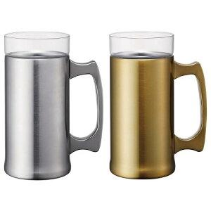 ドウシシャ ON℃ZONE 飲みごこちビールジョッキ 420ml OZNJ-...