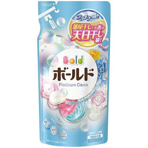 ボールド プラチナクリーン プラチナピュアクリーンの香り つめかえ 715g P&G(プロクター・アンド・ギャンブル) ※