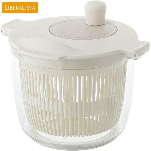 LIBERA LISTA(リベラリスタ) サラダスピナー ホワイト 水切り リス