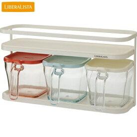 LIBERA LISTA(リベラリスタ) クックポットセット R3P 調味料入れ リス