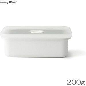 Honey Ware バターケース 200g用 琺瑯 富士ホーロー
