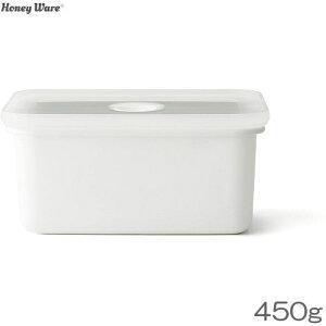 Honey Ware バターケース 450g用 琺瑯 富士ホーロー