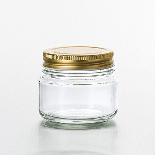 金キャップ保存ビン 100 容量141ml ADERIA(アデリア) M-6514 ※