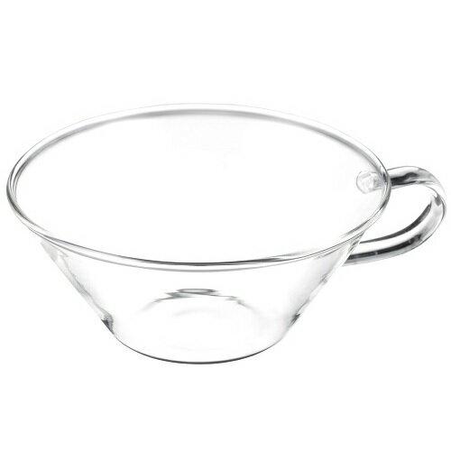 LAVIA ティーカップ シャロウ 耐熱ガラス ADERIA(アデリア) H-4746