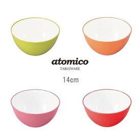 atomico(アトミコ) 耐熱レンジボウル クッキングボウル 14cm CB-JAPAN(シービージャパン)