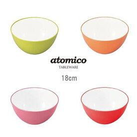 atomico(アトミコ) 耐熱レンジボウル クッキングボウル 18cm CB-JAPAN(シービージャパン)