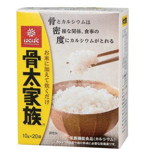 骨太家族 20袋x4箱・・・【はくばく】いつものごはんでカルシウム!と大麦でWの食物繊維βグルカンをとろう!