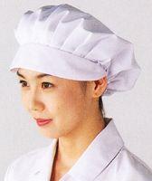 女性用つば付き帽子 工場用帽子 女性用 給食 【コンビニ受取対応商品】