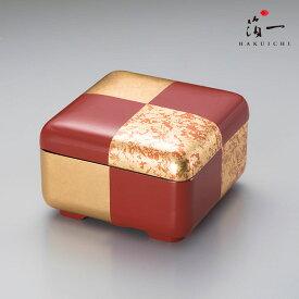 華おぼろ 姫重(朱)|金沢金箔の箔一(はくいち)|御重 重箱 お重 おせち お返し ギフト 贈り物 内祝い お返し お祝い 御祝