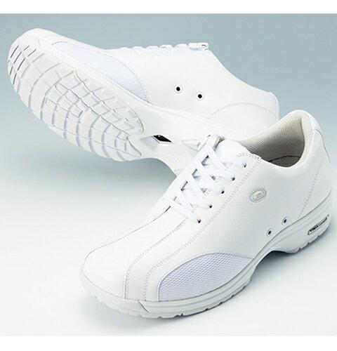 YN490 ヨネックスパワークッションシューズ ( ナースシューズ 白 ナースシューズ 紐ファスナー兼用 靴 ホワイト ナガイレーベン ナース靴 疲れにくい レディース 医療用 22cm 22.5cm 23cm 23.5cm 24cm 24.5cm 25cm 25.5cm 通販 楽天 白衣ネット ナースシューズ)