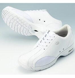YN490 ヨネックスパワークッションシューズ(3.5E ナースシューズ 白 紐ファスナー兼用 靴 ホワイト ナガイレーベン ナース靴 疲れにくい レディース 医療用 通販 楽天 白衣ネット)