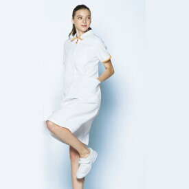 MZ-0185 MIZUNO ミズノ ワンピース(透けにくい ストレッチ 制菌 工業洗濯 白衣 看護師用 ナース レディース 女性 白衣ネット)