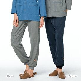 GJ1583 ナガイレーベン 患者衣 パンツ 男女兼用 制電 吸水 防汚 NAGAILEBEN 医療用 入院 院内着 パジャマ 検診衣 検診着 ユニセックス 患者用パンツ ズボン スラックス 動きやすい グレー ネイビー 紺