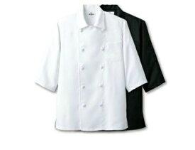 ダフル コックシャツ(五分袖 男女兼用/メンズ/レディース) ホワイトローブ&クリーンウェア
