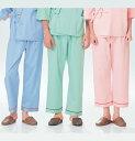 SG1443 ナガイレーベン患者衣 ズボン (ピンク グリーン ブルー ナガイレーベン 通販 楽天 白衣ネット)