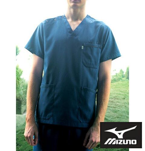 MZ-0018 ミズノ 男女兼用スクラブ(選べる12色 白衣 医療用白衣 看護師用 ナース ピンク グレー グリーン ブルー ネイビー メンズ 男性 白衣カラー 医師 大きいサイズ 通販 楽天 白衣ネット)