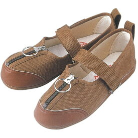 W505 婦人用リハビリシューズ (白 茶 ホワイト ブラウン 靴 マリアンヌ製靴 mariannu 白衣ネット)