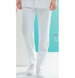 72-1251 モンブラン メンズ パンツ 両脇ゴム 白 ホワイトナース パンツ ドクター 男性 (montblanc 通販 楽天 白衣ネット)