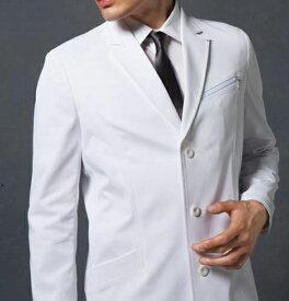 JK191 コシノジュンコ メンズ ドクターコート(ロング) モンブラン 男子 診察衣 長袖 シングルボタンタイプ [] montblanc 通販 楽天 白衣ネット)