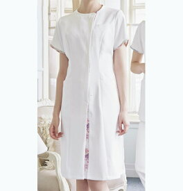 LW402 モンブラン LAURA ASHLEYナースワンピース(医療用白衣 看護師用 ナース服 ナースウエア 通販 楽天 白衣ネット) ローラアシュレイ