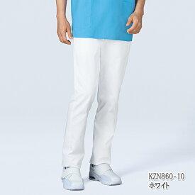 KZN860 KAZEN カゼン 男女兼用パンツ [介護 ケア 施設 訪問 大きいサイズ 4L 5L 6L やや細身 ストレッチ 男性用 女性用]