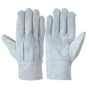 作業革手袋 皮手袋 牛床革手袋 背縫い 12双組 107BC エコノミータイプ