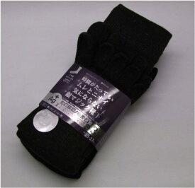 富士手袋工業 5本指靴下 銀イオン繊維使用 3足組 585 黒・チャコール・紺 消臭抗菌