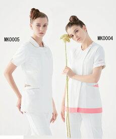MK0005 ミッシェルクラン レディス ジャケット 白衣 医療白衣