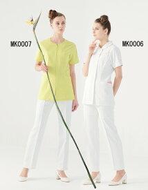 MK0007 ミッシェルクラン レディス ジャケット 白衣 医療白衣