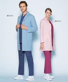 MZ0175 ミズノ レディス ドクターコート 白衣 医療白衣