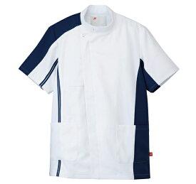 862001-008 アイトス ケーシー 半袖 医療白衣 白衣 医療