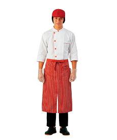 MONTBLANC コックコート七分袖 6-511(男女兼用) 刺繍名前入れ可能