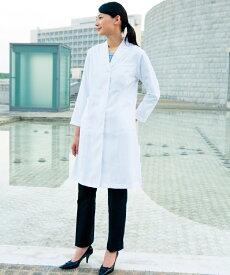 71-231 住商モンブラン 女性 医療白衣 診察着 長袖 ドクターコート