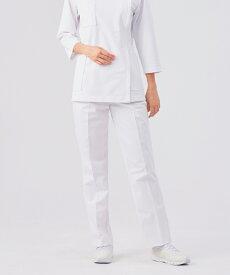72-091 住商モンブラン レディスパンツ ツータック 医療白衣 白衣 医療