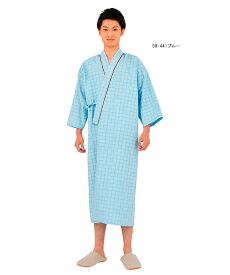 59-441 住商モンブラン 患者衣衣男女兼用8分袖.着物式