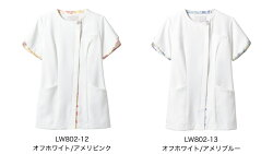LW802-12/LW802-13LAURAASHLEYナースジャケット半袖