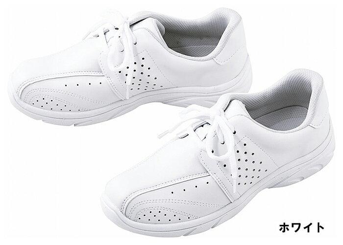 富士ゴムナース F842 プレーンレース(男女兼用) 22.0〜28.0・29.0・30.0cm(3E) 医療白衣 ナースシューズ 靴