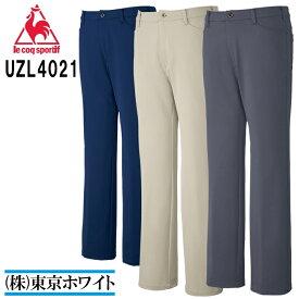 ルコック(le coq) UZL4021 ニットスラックス Men's S〜EL 介護ユニフォーム 介護服