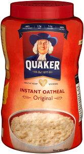 クエーカー インスタントオートミール1キロ オートミール クエーカー 朝食おやつ アメリカ 輸入 アメリカ お土産 アメリカ シリアル 便秘解消 ダイエット食品 ダイエット 置き換え ヘル