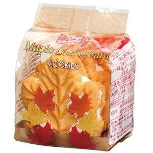 【送料込み】テイストデライト メイプルリーフクリームクッキー3P 12個セット カナダのおかし メイプルクッキー 輸入クッキー 海外クッキー 砂糖不使用