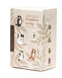 【送料込み】 Gongdreen ゴンドリーン ハイビスカスティー(ネコ) 4.8g(0.8g×6袋) 原産国:韓国 輸入紅茶 海外紅茶