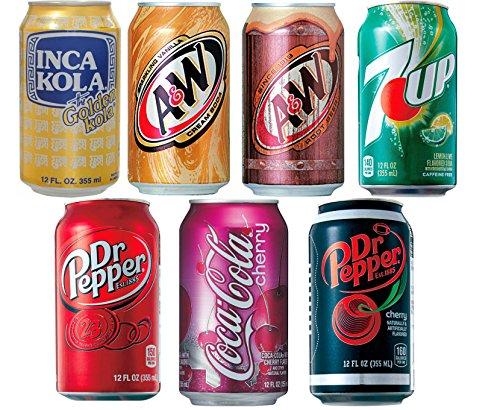 輸入炭酸 ドリンク 7種 飲み比べセット
