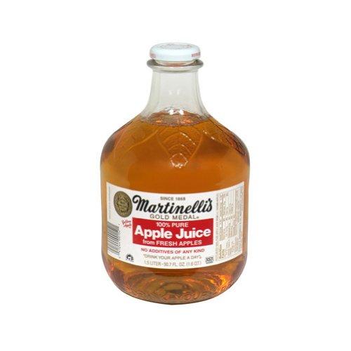 送料無料 マーティネリ アップルジュース 1.5L 瓶×6本